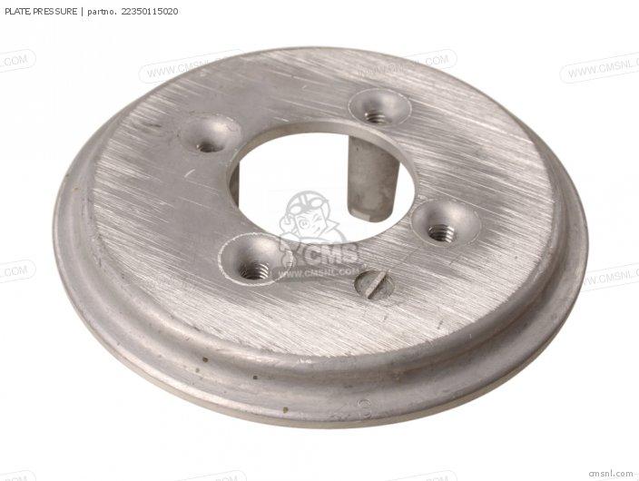 Crm75r 1989 k Spain Plate pressure