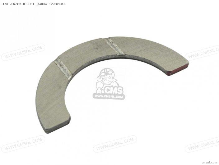 Plate, Crank Thrust photo
