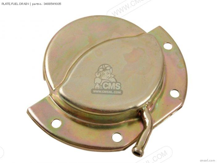 Plate, Fuel Drain photo