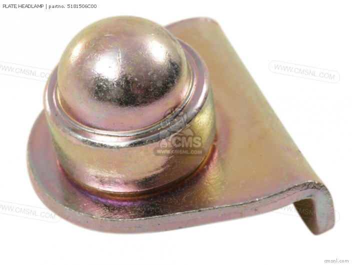 Plate, Headlamp photo