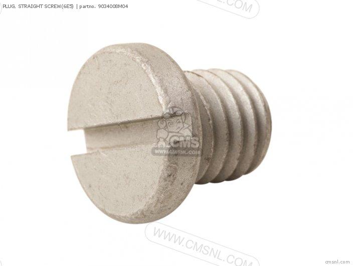 Plug, Straight Screw(6e5) photo