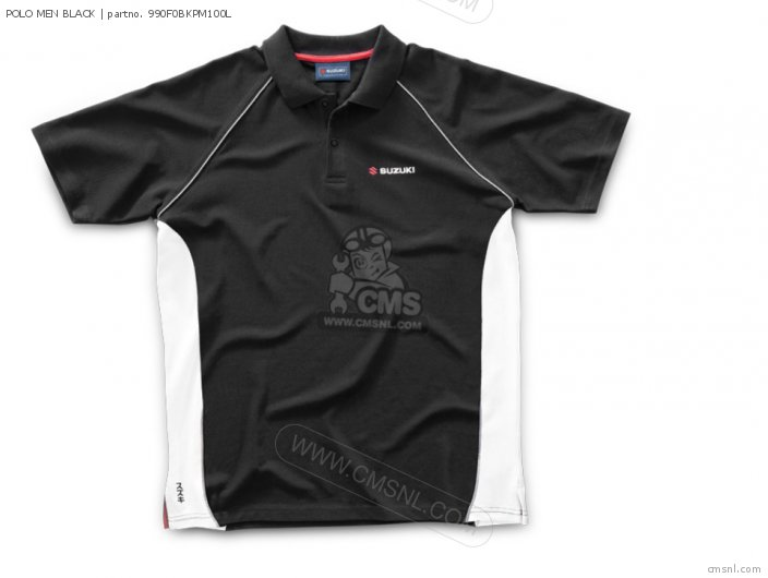 Merchandise Suzuki Polo Men Black