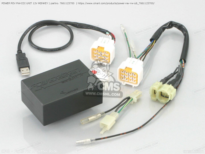 7661123700 Power Rev Rw-cdi Unit Kitaco - 766-1123700