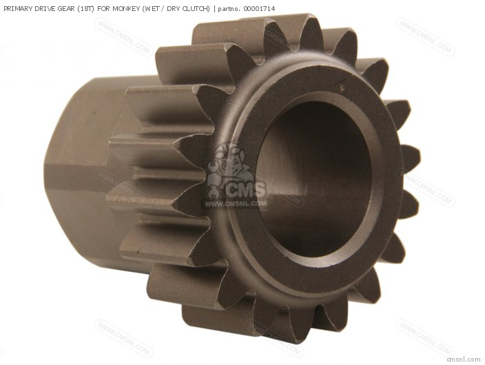 Primary Drive Gear (18t) For Monkey (wet / Dry Clutch) photo