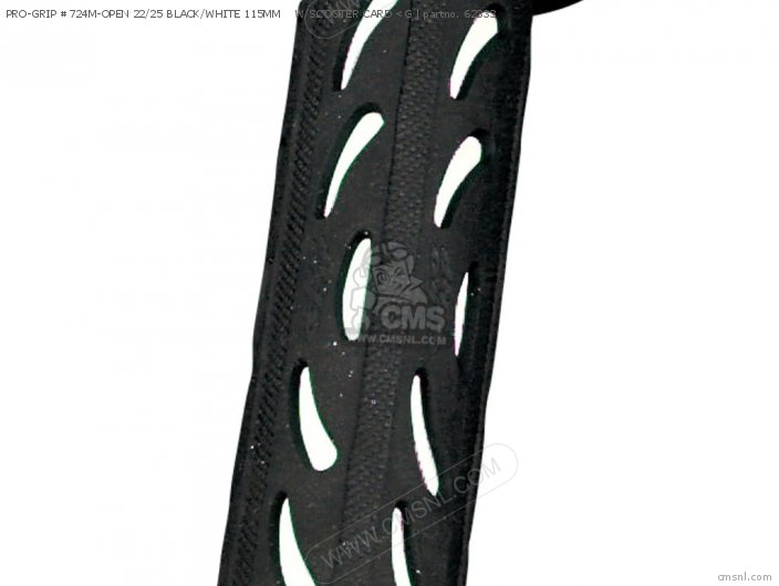 PRO-GRIP #724M-OPEN 22/25 BLACK/WHITE 115MM    W/SCOOTER CARD