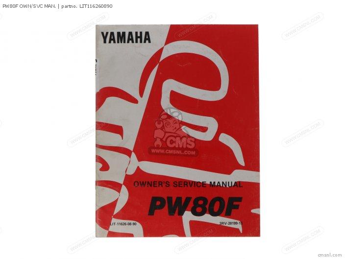 Pw80f Own/svc Man. photo