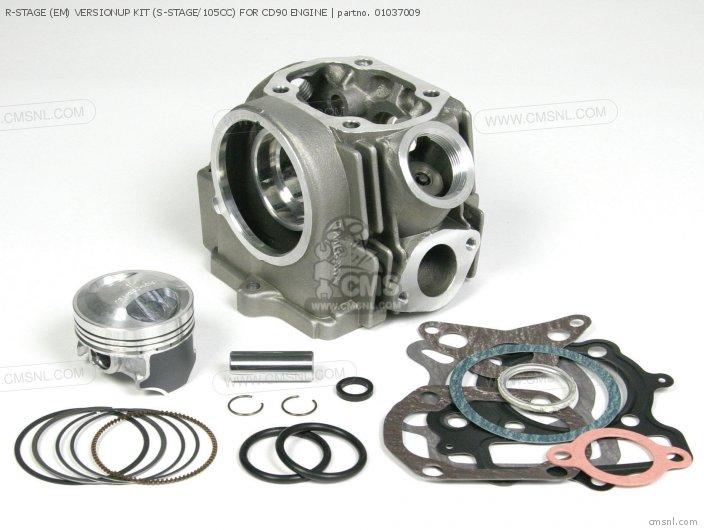 R-STAGE (EM) VERSIONUP KIT (S-STAGE/105CC) FOR CD90 ENGINE
