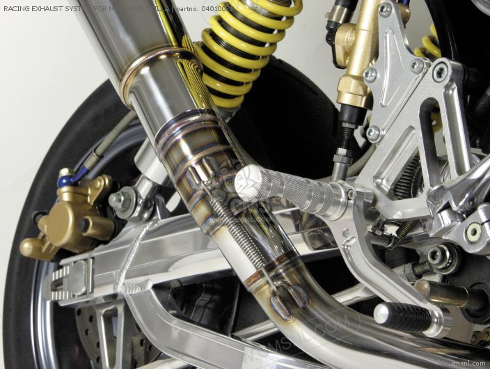 Racing Exhaust System For Monkey/gorilla photo