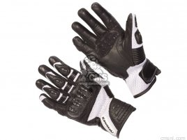 RACING GLOVES WHT M