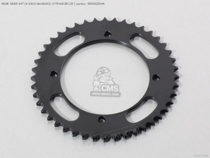 REAR GEAR 44T (#420/KAWASAKI) D-TRACKER125