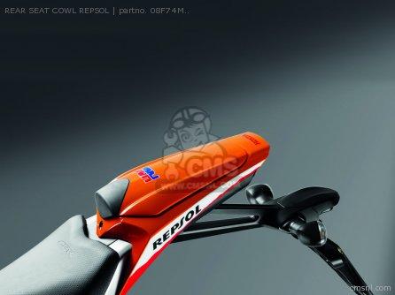 Cb1000r Rear Seat Cowl Repsol