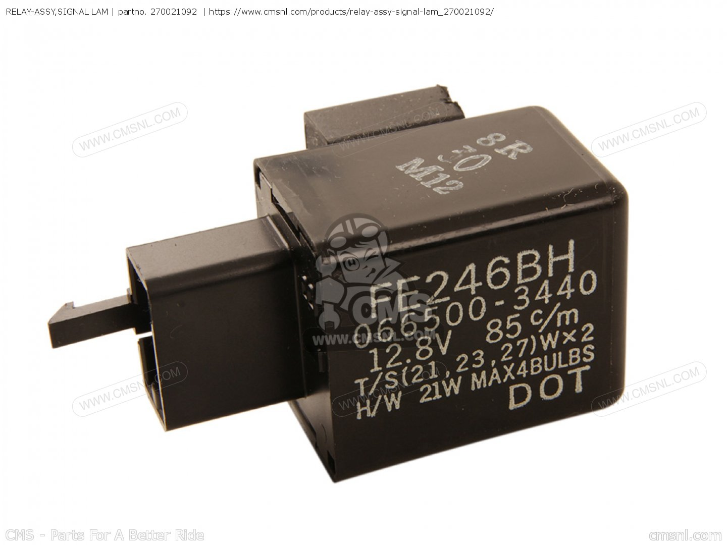 Relay Assysignal Lam Fits Vn1500d2 Vn1500 Classic 1997 Euro Uk Fr Electrical Assy Signal Photo