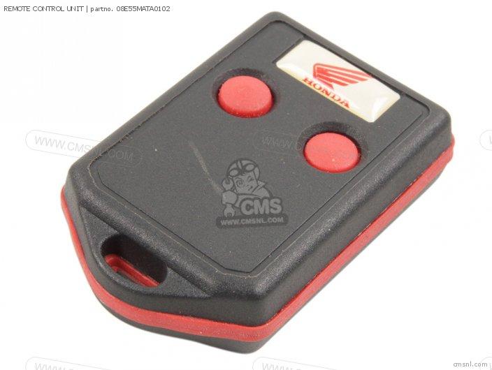 Honda REMOTE CONTROL UNIT 08E55MATA0102