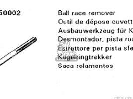 REMOVER,BALL RACE