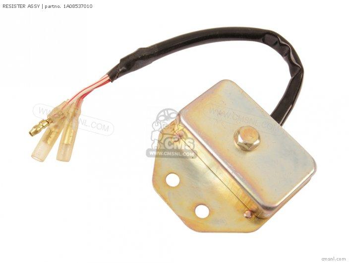 RD400 1976-1979 Genuine Yamaha 1A0-85370-10-00 Ballast Resistor Assembly