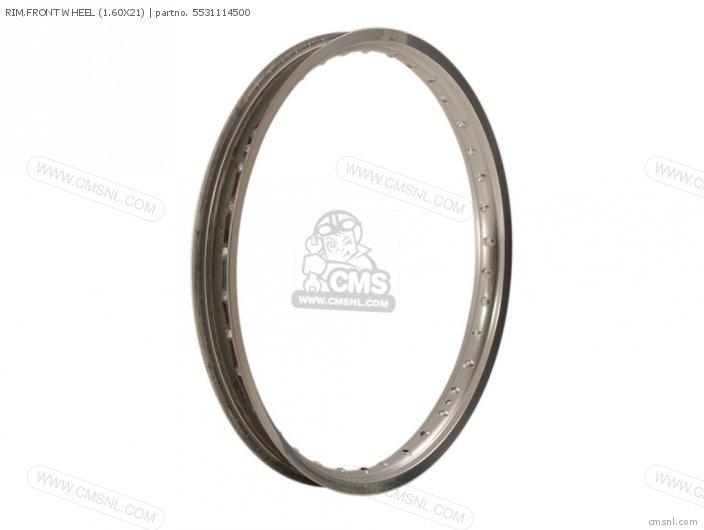 RM500 1984 E RIM FRONT WHEEL 1 60X21