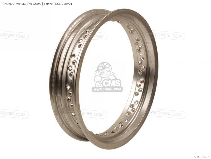 Rim, Rear Wheel (mt3.00x photo