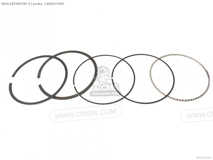 RING SET,PISTON O