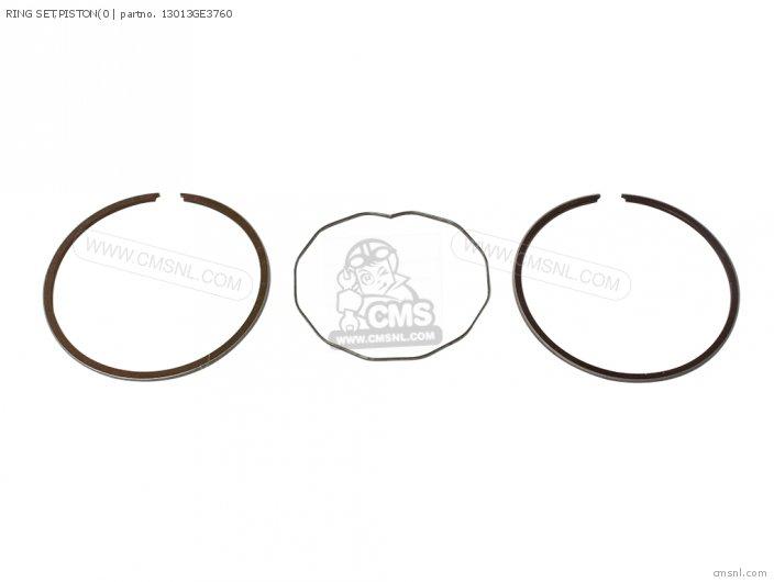 Crm75r 1989 k Spain Ring Set piston0