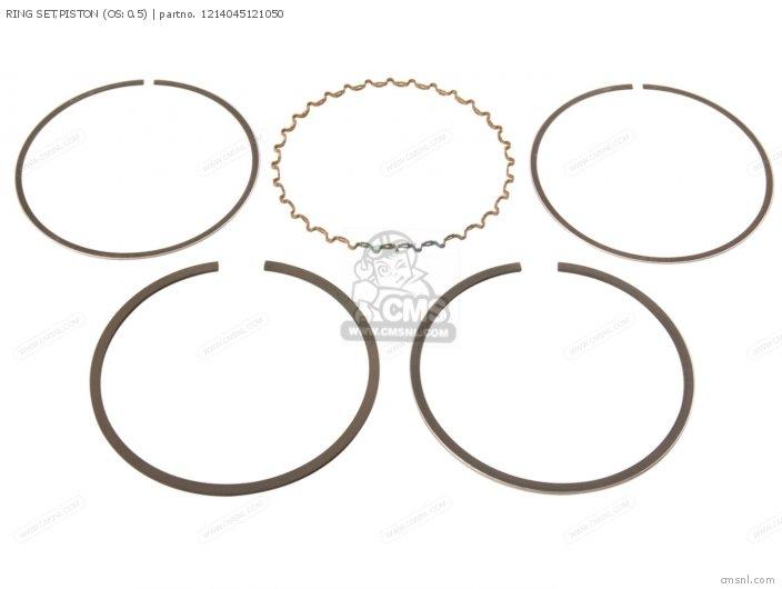 Ring Set, Piston (os:0.5) photo