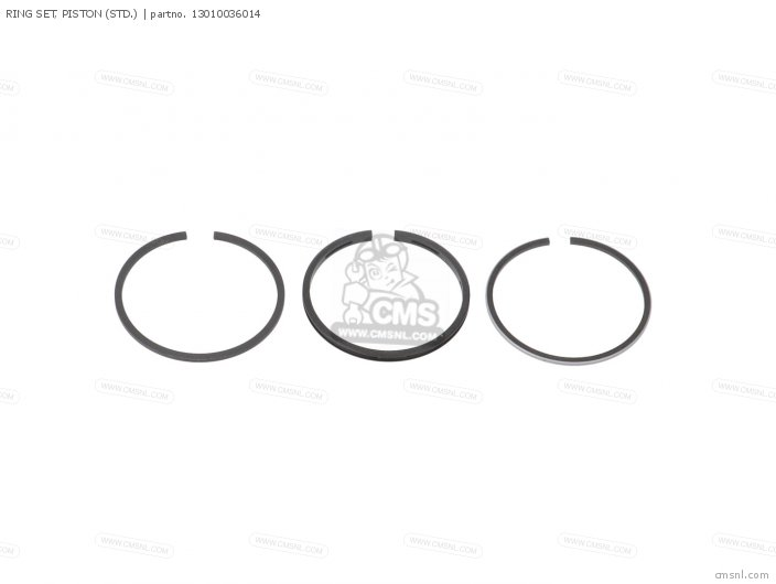 Ring Set, Piston (std.) photo
