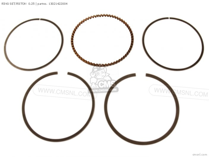 Ring Set, Piston  0.25 photo