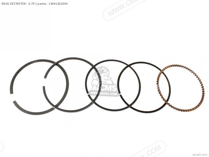 Ring Set, Piston  0.75 photo