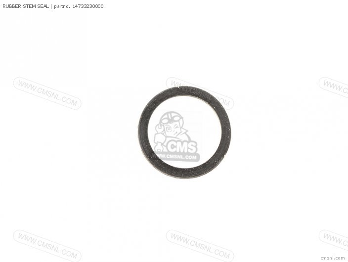 RUBBER STEM SEAL