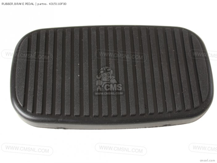 Rubber, Brake Pedal photo