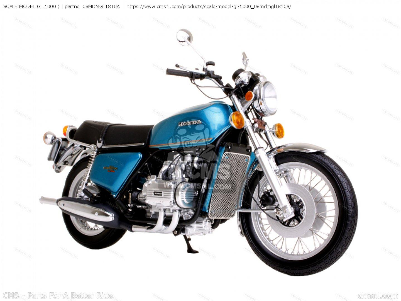 SCALE MODEL GL 1000 ( 08MDMGL1810A, fits Honda