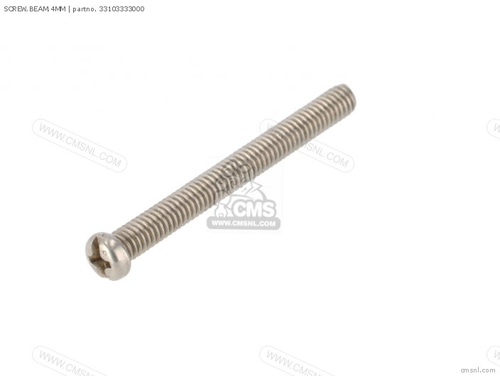 SCREW,BEAM,4MM