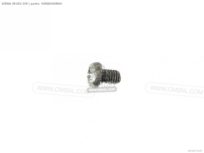 SCREW,CROSS 3X5