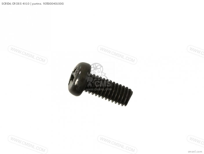 SCREW,CROSS 4X10
