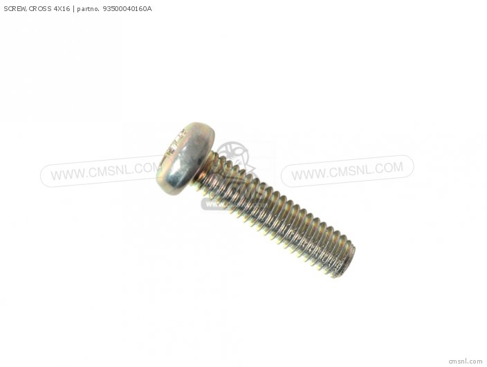 SCREW,CROSS 4X16