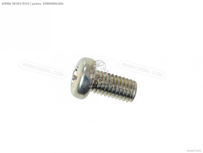 SCREW,CROSS 5X10