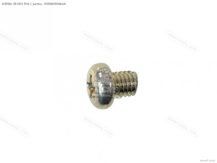 SCREW,CROSS 5X6
