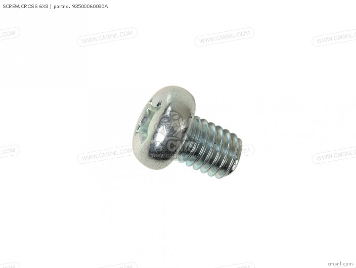 SCREW,CROSS 6X8