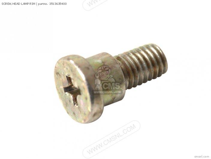 SCREW, HEAD LAMP RIM