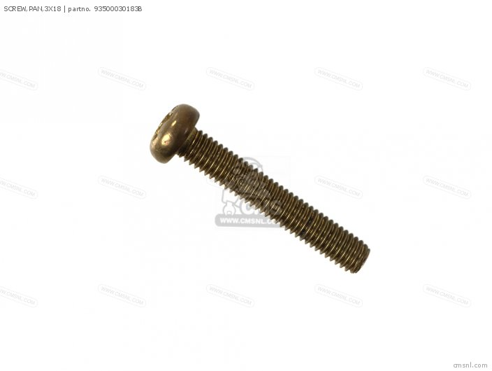 SCREW,PAN,3X18