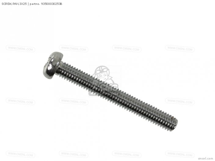 SCREW,PAN,3X25