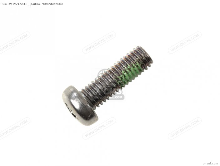 SCREW,PAN,5X12