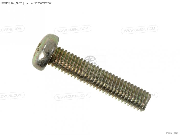 SCREW,PAN,5X25
