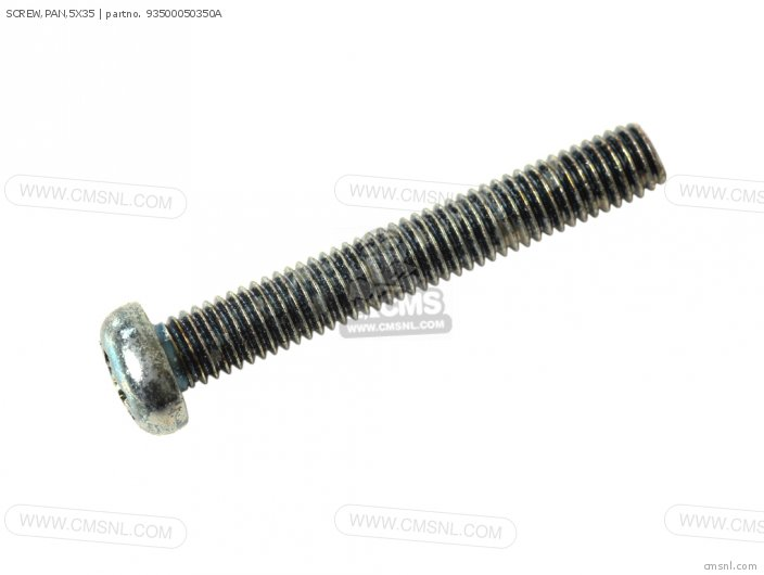 SCREW,PAN,5X35
