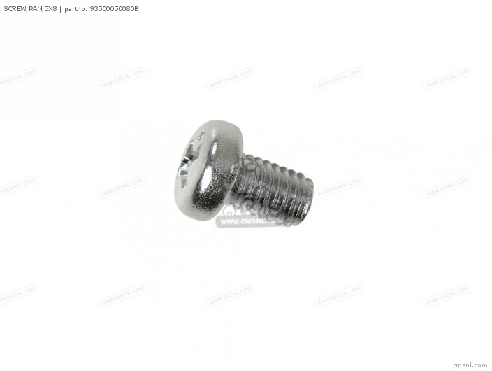 SCREW,PAN,5X8