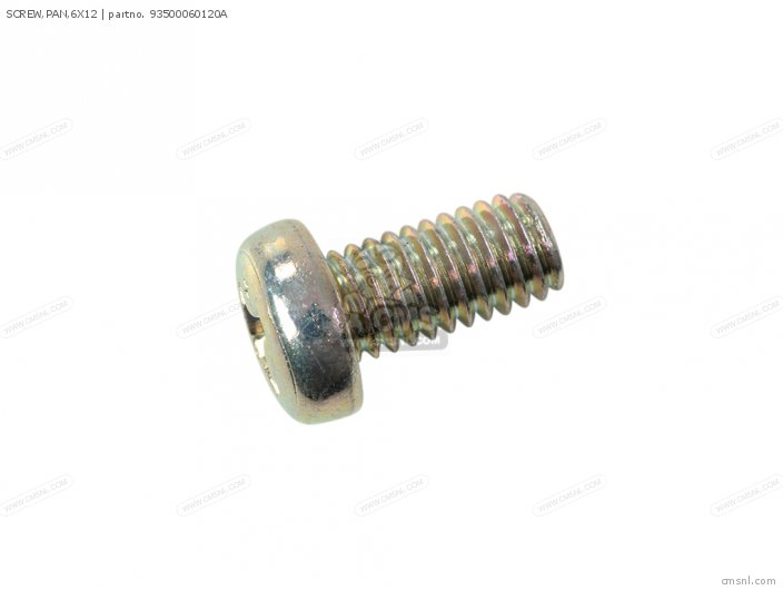 SCREW,PAN,6X12