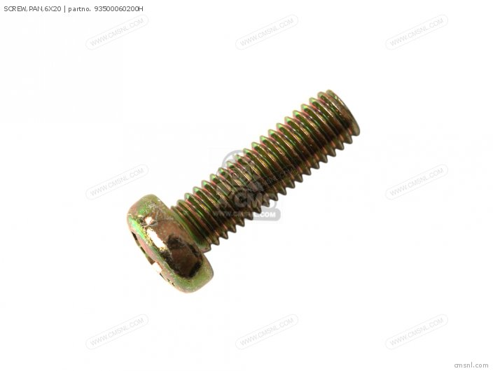 SCREW, PAN,6X20