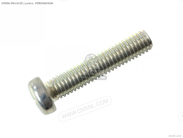 SCREW,PAN,6X30