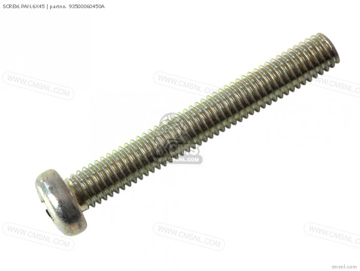 SCREW,PAN,6X45