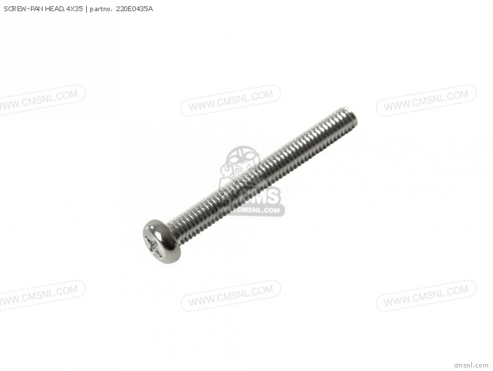 SCREW-PAN HEAD 4X35