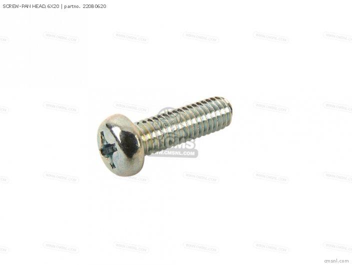 Screw-pan Head,6x20 photo